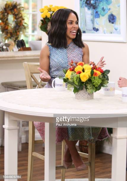 Actress Amirah Vann visits Hallmark's 'Home Family' at Universal Studios Hollywood on October 2 2018 in Universal City California