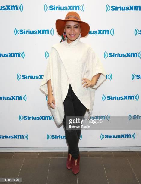 Actress Amirah Vann visits SiriusXM at SiriusXM Studios on February 13 2019 in New York City