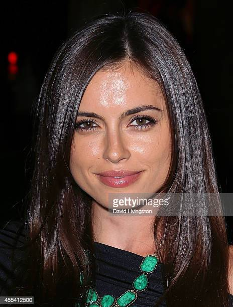 Actress Amra Silajdzic attends the Brent Shapiro Foundation for Alcohol and Drug Awareness' annual 'Summer Spectacular Under The Stars' at a private...
