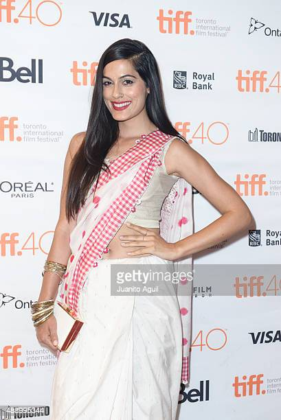 Actress Amrit Maghera attends the premiere of 'Angry Indian Goddesses' at The Elgin on September 18 2015 in Toronto Canada