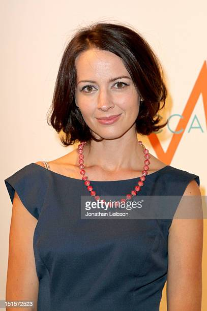 Actress Amy Acker at Variety Studio presented by Moroccanoil on Day 1 at Holt Renfrew, Toronto during the 2012 Toronto International Film Festival on...