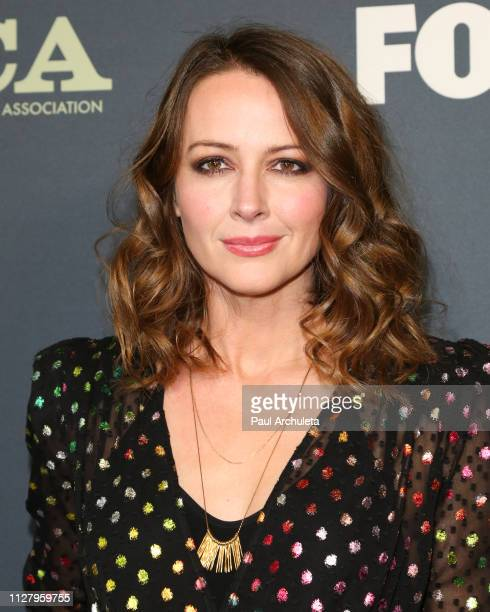 Actress Amy Acker attends the 2019 FOX Winter TCA Tour at The Fig House on February 06 2019 in Los Angeles California