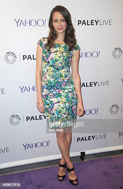 Actress Amy Acker attends The Paley Center For Media Hosts An Evening With 'Person Of Interest' at The Paley Center for Media on April 13, 2015 in...