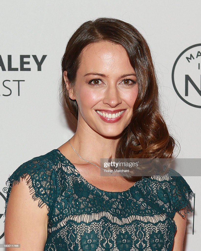 Amy Acker Person of Interest panel during 2013 PaleyFest