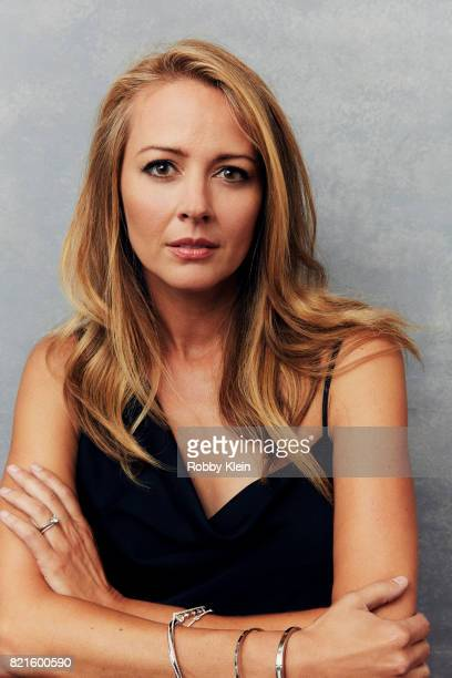 Actress Amy Acker from FOX's 'The Gifted' poses for a portrait during Comic-Con 2017 at Hard Rock Hotel San Diego on July 22, 2017 in San Diego,...