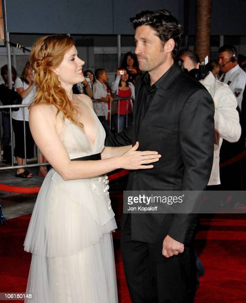 3bde946a847 Actress Amy Adams and actor Patrick Dempsey arrive at the Los Angeles  Premiere Enchanted at the.