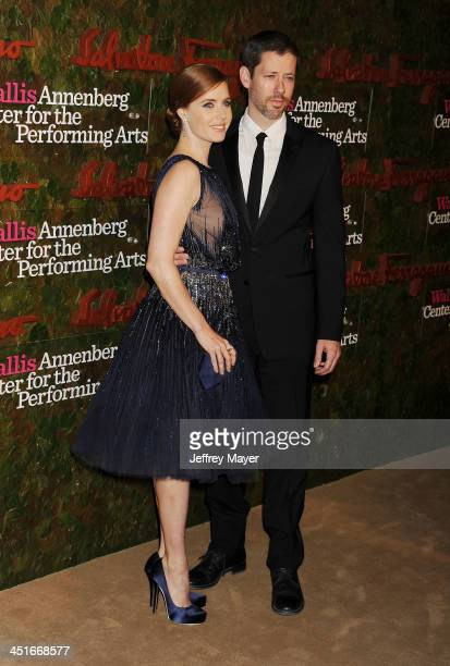 Actress Amy Adams and Darren Le Gallo at the Wallis Annenberg Center For The Performing Arts Inaugural Gala at Wallis Annenberg Center for the...