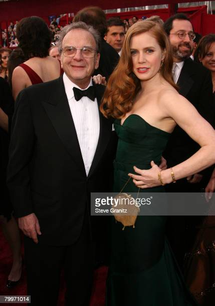 Actress Amy Adams and guest attend the 80th Annual Academy Awards at the Kodak Theatre on February 24 2008 in Los Angeles California