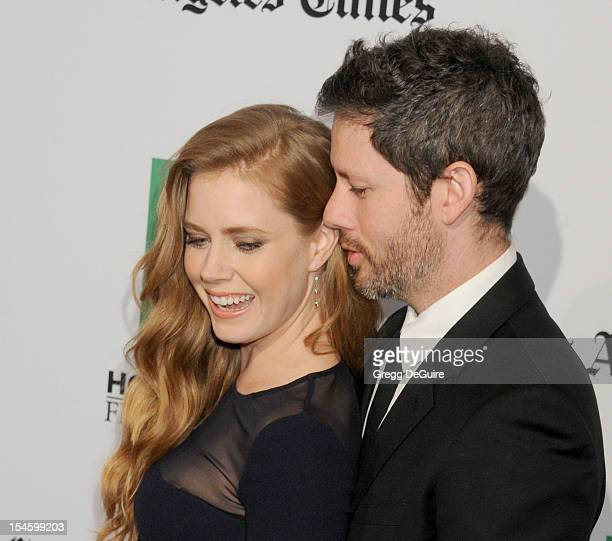 Actress Amy Adams and husband Darren Le Gallo arrive at the 16th Annual Hollywood Film Awards Gala presented by the Los Angeles Times at The Beverly...
