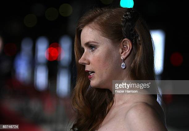 Actress Amy Adams arrives at a special screening Of Miramax's 'Doubt' on November 18 2008 at the Academy Of Motion Pictures Arts and Sciences in...