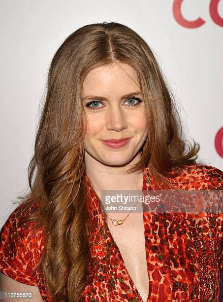 Actress Amy Adams arrives at an Evening of Cocktails and Shopping to Benefit the Children's Defense Fund hosted by Coach at Bad Robot on April 20...