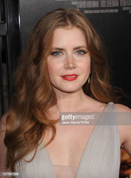 Actress Amy Adams arrives at Paramount Pictures' 'The Fighter' premiere at Grauman's Chinese Theatre on December 6 2010 in Hollywood California