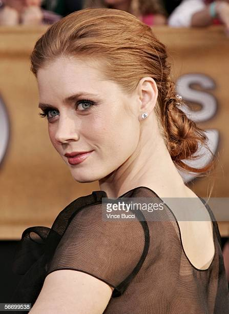 Actress Amy Adams arrives at the 12th Annual Screen Actors Guild Awards held at the Shrine Auditorium on January 29 2006 in Los Angeles California