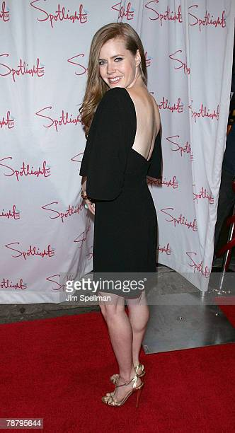 Actress Amy Adams arrives at the 2007 New York Film Critic's Circle Awards at Spotlight on January 6, 2008 in New York City.