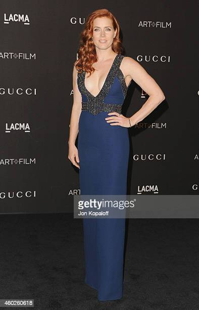 Actress Amy Adams arrives at the 2014 LACMA Art Film Gala Honoring Quentin Tarantino And Barbara Kruger at LACMA on November 1 2014 in Los Angeles...