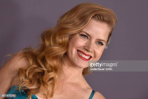 Actress Amy Adams arrives at the 2017 LACMA Art Film Gala at LACMA on November 4 2017 in Los Angeles California