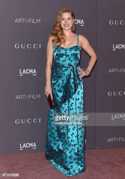 Actress Amy Adams arrives at the 2017 LACMA Art Film Gala at LACMA on November 4 2017 in Los Angeles California