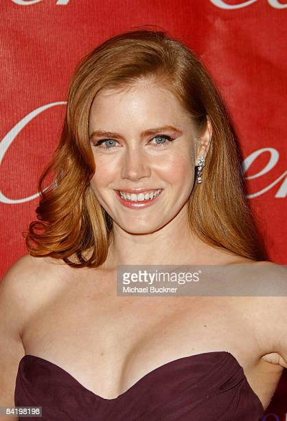 Actress Amy Adams arrives at the 20th anniversary of the Palm Springs International Film Festival Awards Gala presented by Cartier held at the Palm...