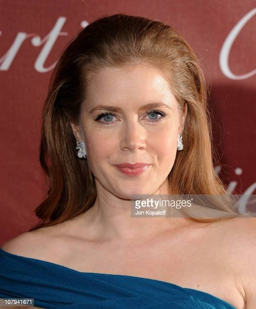Actress Amy Adams arrives at the 22nd Annual Palm Springs International Film Festival Awards Gala at Palm Springs Convention Center on January 8 2011...