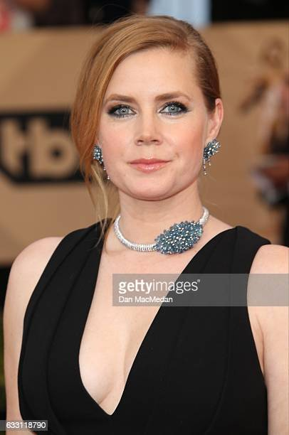 Actress Amy Adams arrives at the 23rd Annual Screen Actors Guild Awards at The Shrine Expo Hall on January 29 2017 in Los Angeles California