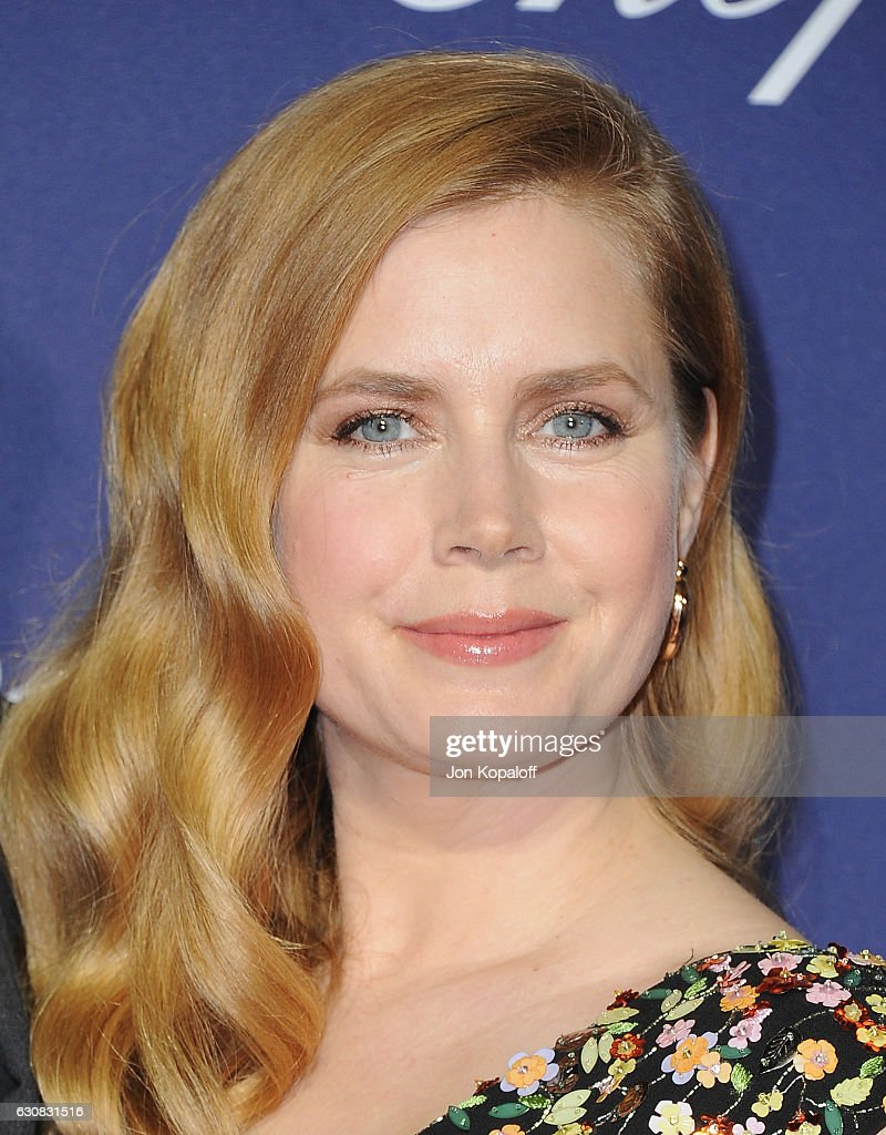Actress Amy Adams arrives at the 28th Annual Palm Springs International Film Festival Film Awards Gala at Palm Springs Convention Center on January 2, 2017 in Palm Springs, California.