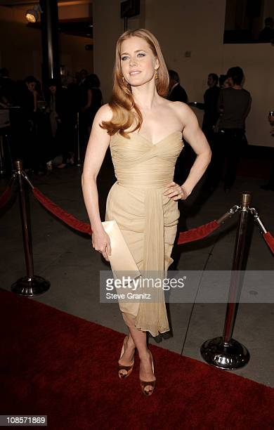 Actress Amy Adams arrives at the 63rd Annual DGA Awards held at the Grand Ballroom at Hollywood & Highland Center on January 29, 2011 in Hollywood,...