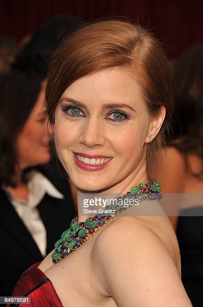 Actress Amy Adams arrives at the 81st Annual Academy Awards held at The Kodak Theatre on February 22 2009 in Hollywood California