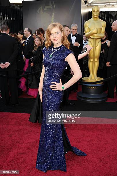 Actress Amy Adams arrives at the 83rd Annual Academy Awards held at the Kodak Theatre on February 27 2011 in Hollywood California