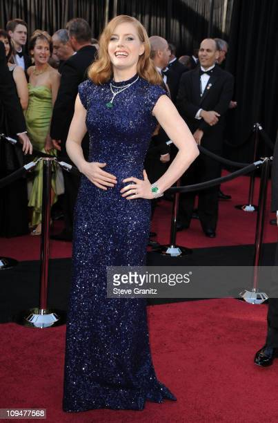 Actress Amy Adams arrives at the 83rd Annual Academy Awards held at the Kodak Theatre on February 27, 2011 in Hollywood, California.