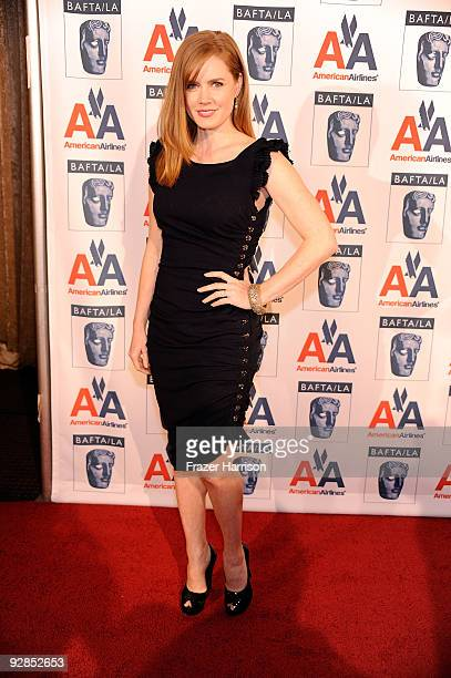 Actress Amy Adams arrives at the 8th Annual British Academy Of Film And Television Arts Britannia Awards at the Hyatt Regency Century Plaza Hotel on...