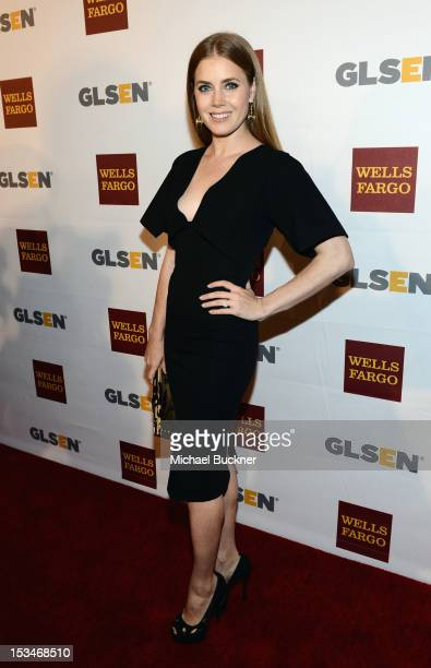 Actress Amy Adams arrives at the 8th Annual GLSEN Respect Awards held at Beverly Hills Hotel on October 5 2012 in Beverly Hills California