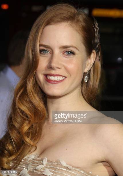 Actress Amy Adams arrives at the 'Doubt' premiere on November 18 2008 in Beverly Hills California