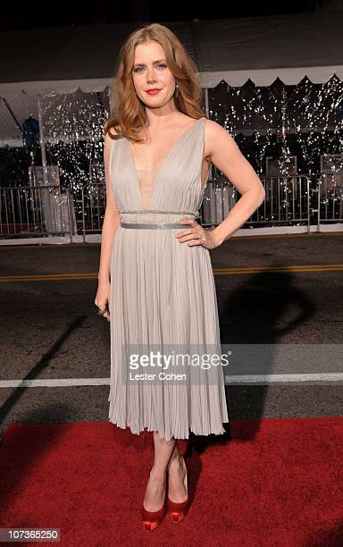 Actress Amy Adams arrives at The Fighter Los Angeles premiere held at the Grauman's Chinese Theatre on December 6 2010 in Hollywood California