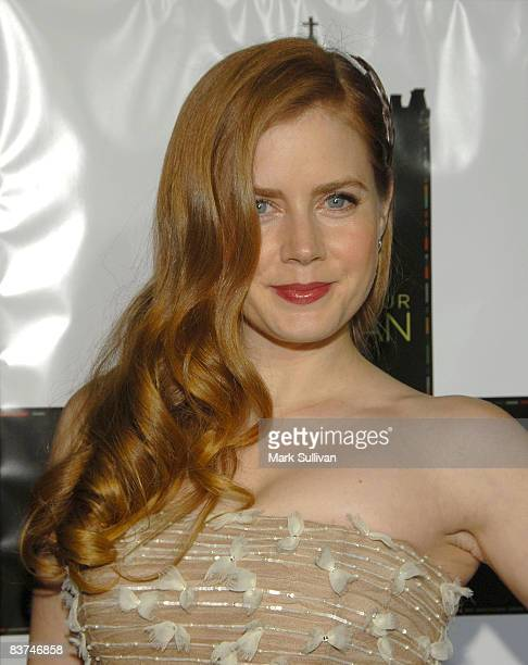 Actress Amy Adams arrives at the Los Angeles Premiere of 'Doubt' at AMPAS on November 18 2008 in Beverly Hills California