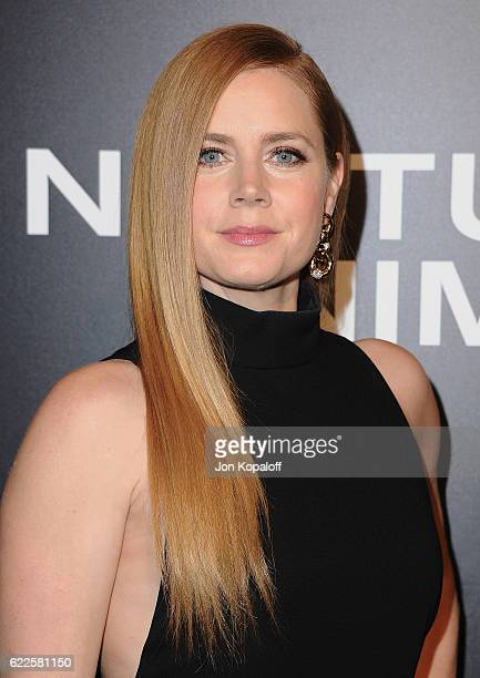 Actress Amy Adams arrives at the screening of Focus Features' 'Nocturnal Animals' at Hammer Museum on November 11 2016 in Westwood California