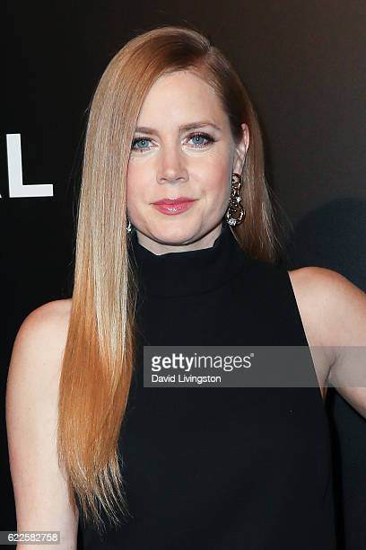 Actress Amy Adams arrives at the screening of Focus Features' 'Nocturnal Animals' at the Hammer Museum on November 11 2016 in Westwood California