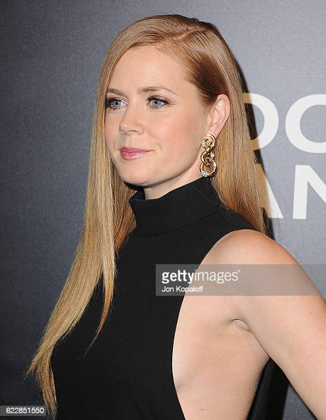Actress Amy Adams arrives at the screening of Focus Features' Nocturnal Animals at Hammer Museum on November 11 2016 in Westwood California