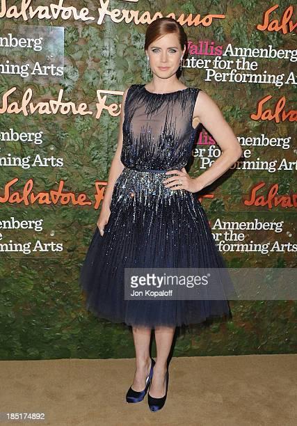 Actress Amy Adams arrives at the Wallis Annenberg Center For Performing Arts Inaugural Gala at Wallis Annenberg Center for the Performing Arts on...