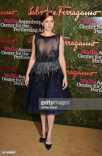Actress Amy Adams arrives at the Wallis Annenberg Center For The Performing Arts Inaugural Gala at Wallis Annenberg Center for the Performing Arts on...