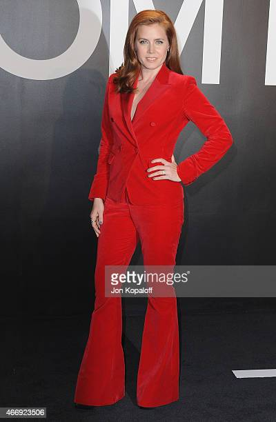 Actress Amy Adams arrives at Tom Ford Autumn/Winter 2015 Womenswear Collection Presentation at Milk Studios on February 20 2015 in Los Angeles...