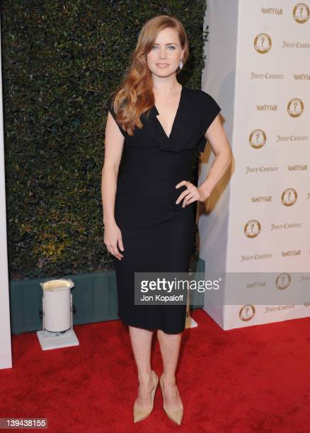 Actress Amy Adams arrives at Vanity Fair/Juicy Couture Host Vanities 20th Anniversary And Campaign Hollywood Kick Off Party at Siren Studios on...
