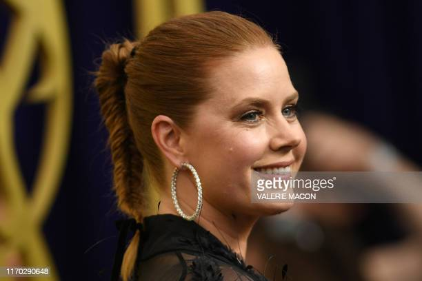 US actress Amy Adams arrives for the 71st Emmy Awards at the Microsoft Theatre in Los Angeles on September 22 2019