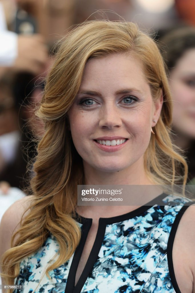 Actress Amy Adams attends Giffoni Film Festival 2017 blue carpet on July 18, 2017 in Giffoni Valle Piana, Italy.