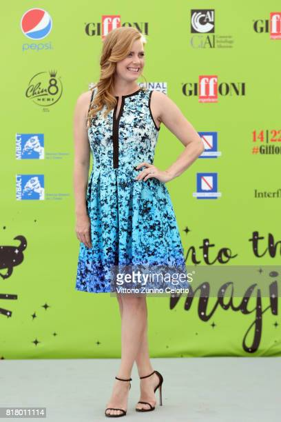Actress Amy Adams attends Giffoni Film Festival 2017 photocall on July 18 2017 in Giffoni Valle Piana Italy