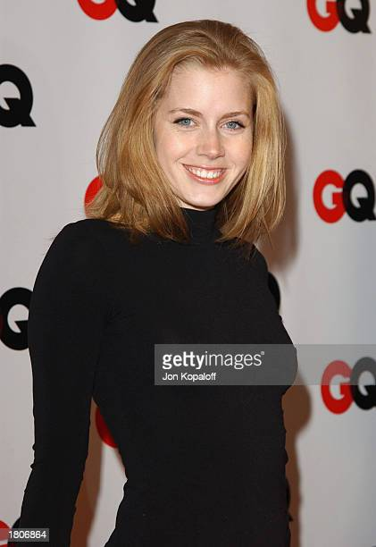 Actress Amy Adams attends 'GQ Magazine Celebrates Their Annual Hollywood Issue' at the GQ Lounge at White Lotus on February 20 2003 in Hollywood...