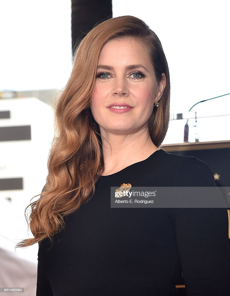Actress Amy Adams attends star ceremony on the Hollywood Walk of Fame on January 11, 2017 in Hollywood, California.