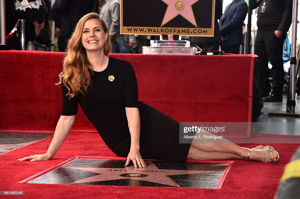 Amy Adams Honored With Star On The Hollywood Walk Of Fame