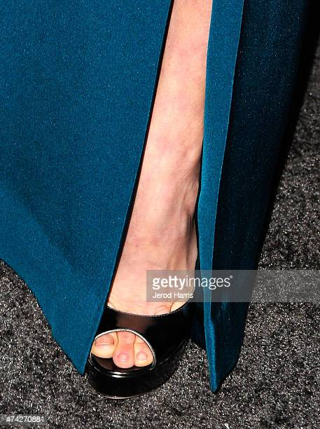 Actress Amy Adams attends the 16th Costume Designers Guild Awards with presenting sponsor Lacoste at The Beverly Hilton Hotel on February 22 2014 in...