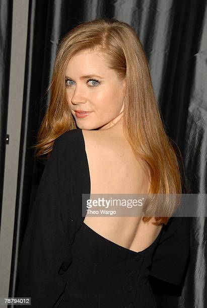 Actress Amy Adams attends the 2007 New York Film Critic's Circle Awards at Spotlight on January 6, 2008 in New York City.