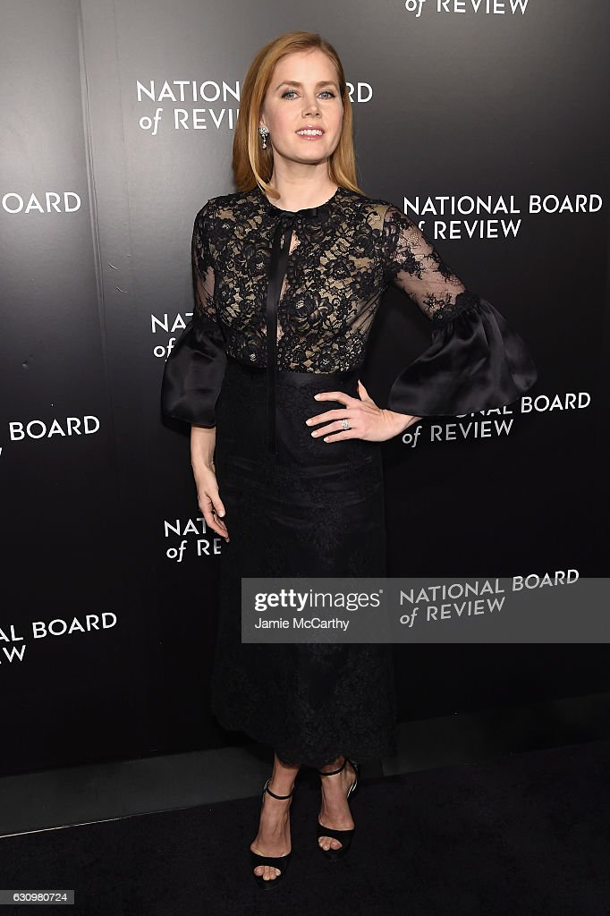 Actress Amy Adams attends the 2016 National Board of Review Gala at Cipriani 42nd Street on January 4, 2017 in New York City.